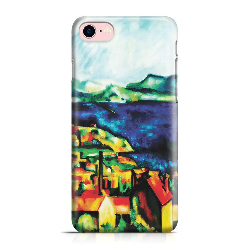 iPhone 7 Case - The Gulf of Marseilles by Paul Cezanne