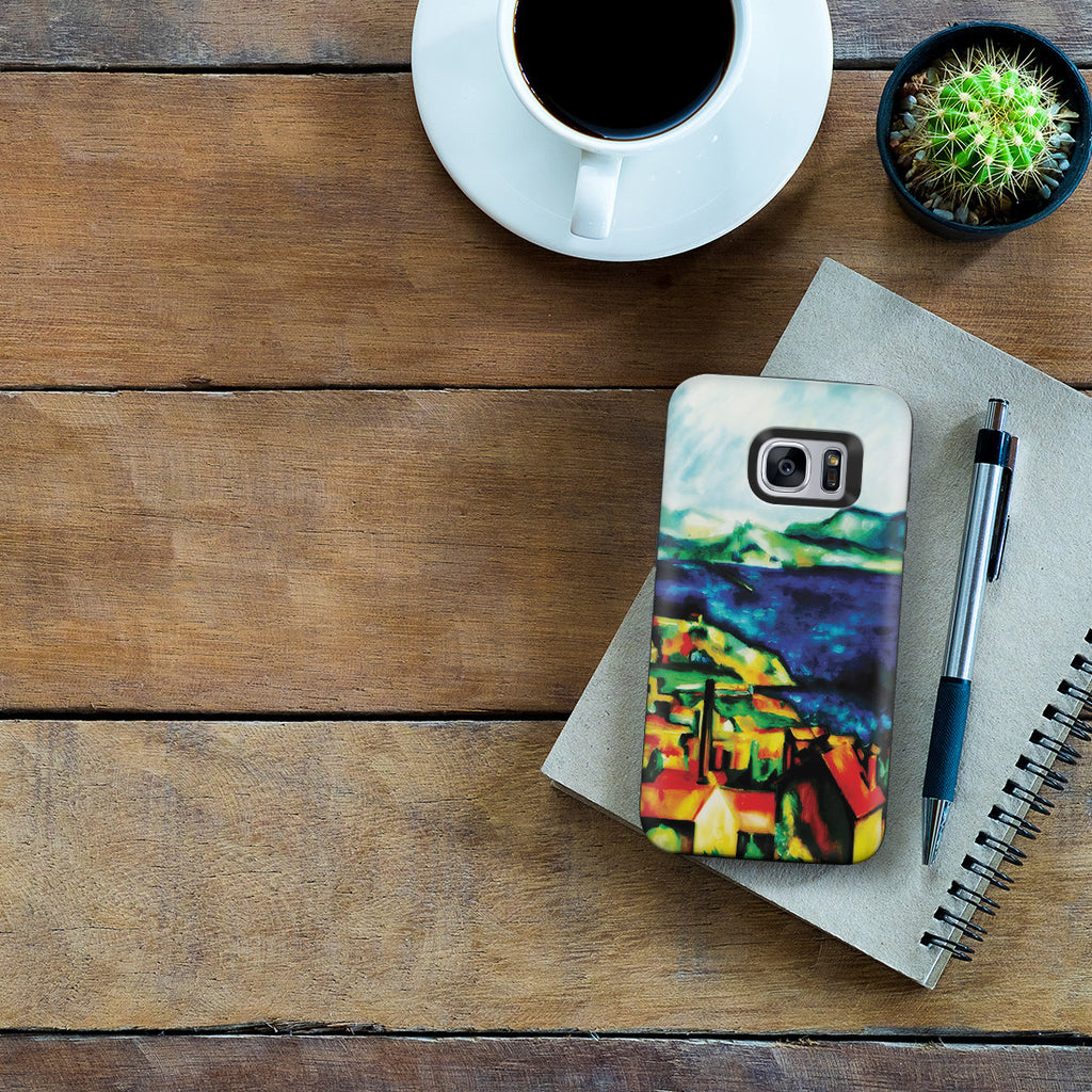 Galaxy S7 Adventure Case - The Gulf of Marseilles by Paul Cezanne