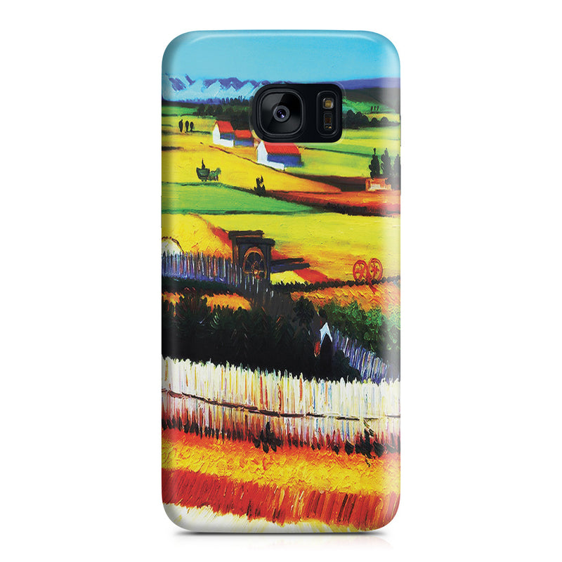 Galaxy S7 Edge Case - The Harvest by Vincent Van Gogh