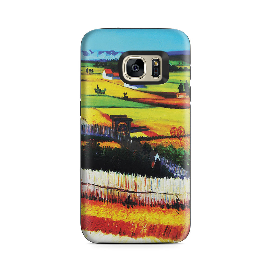 Galaxy S7 Adventure Case - The Harvest by Vincent Van Gogh