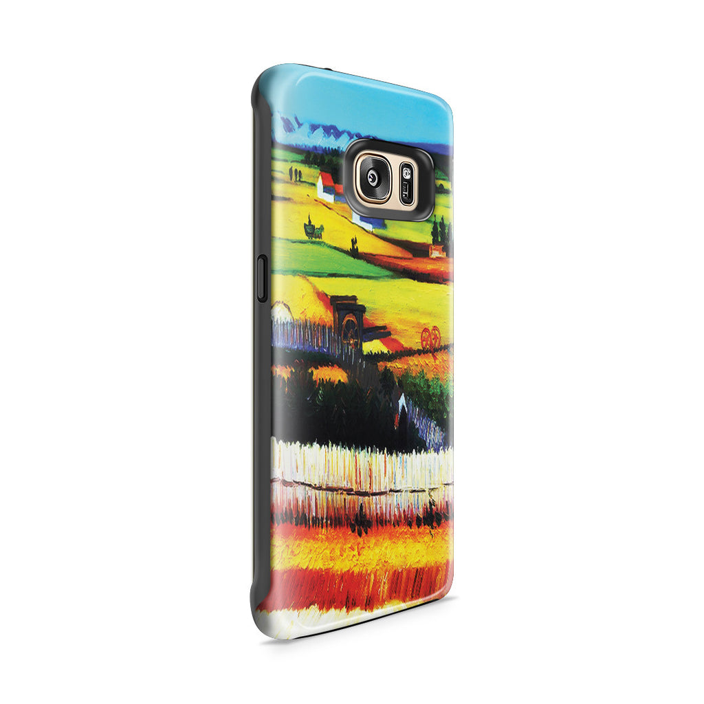 Galaxy S7 Edge Adventure Case - The Harvest by Vincent Van Gogh