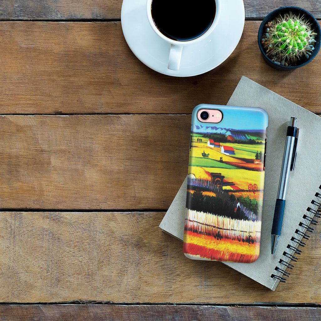 iPhone 7 Adventure Case - The Harvest by Vincent Van Gogh