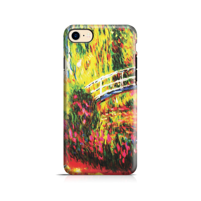 iPhone 7 Adventure Case - The Japanese Bridge (The Water-Lily Pond, Water Irises) by Claude Monet