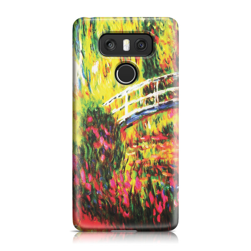 LG G6 Case - The Japanese Bridge (The Water-Lily Pond, Water Irises) by Claude Monet