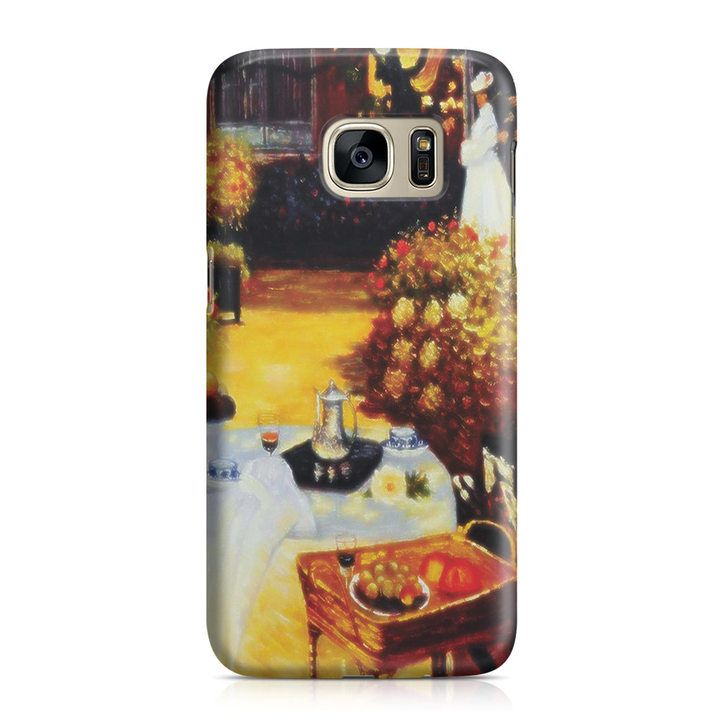 Galaxy S7 Case - The Luncheon by Claude Monet