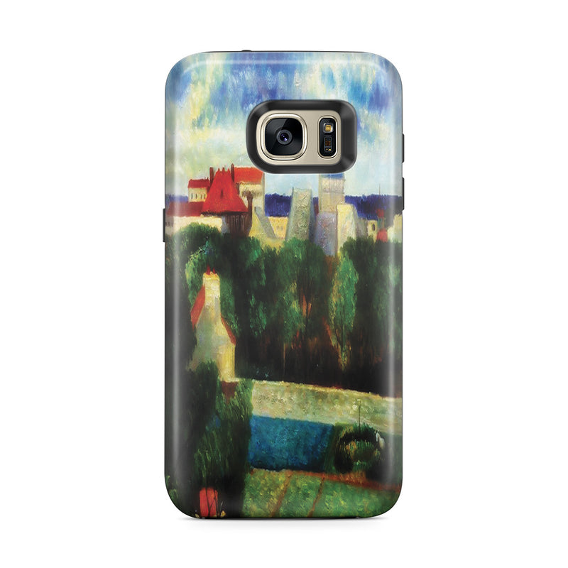 Galaxy S7 Edge Adventure Case - The Market Gardens of Vaugirard, 1879 by Paul Gauguin