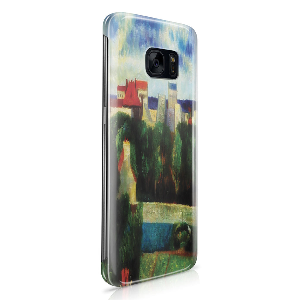 Galaxy S7 Edge Case - The Market Gardens of Vaugirard, 1879 by Paul Gauguin