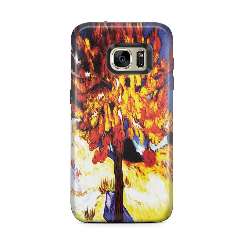 Galaxy S7 Edge Adventure Case - The Mulberry Tree by Vincent Van Gogh