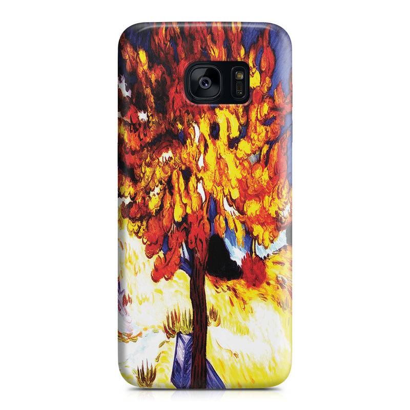 Galaxy S7 Edge Case - The Mulberry Tree by Vincent Van Gogh