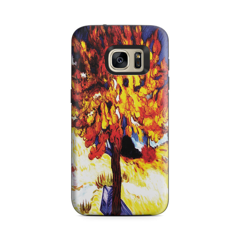 Galaxy S7 Adventure Case - The Mulberry Tree by Vincent Van Gogh