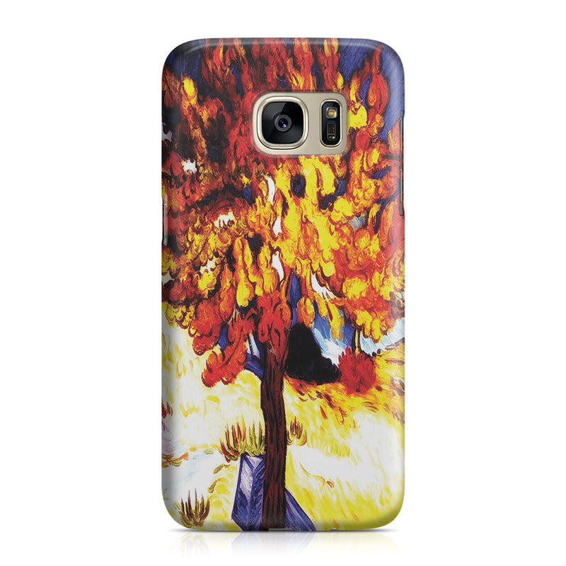Galaxy S7 Case - The Mulberry Tree by Vincent Van Gogh