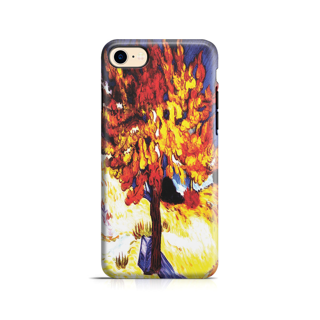 iPhone 7 Adventure Case - The Mulberry Tree by Vincent Van Gogh