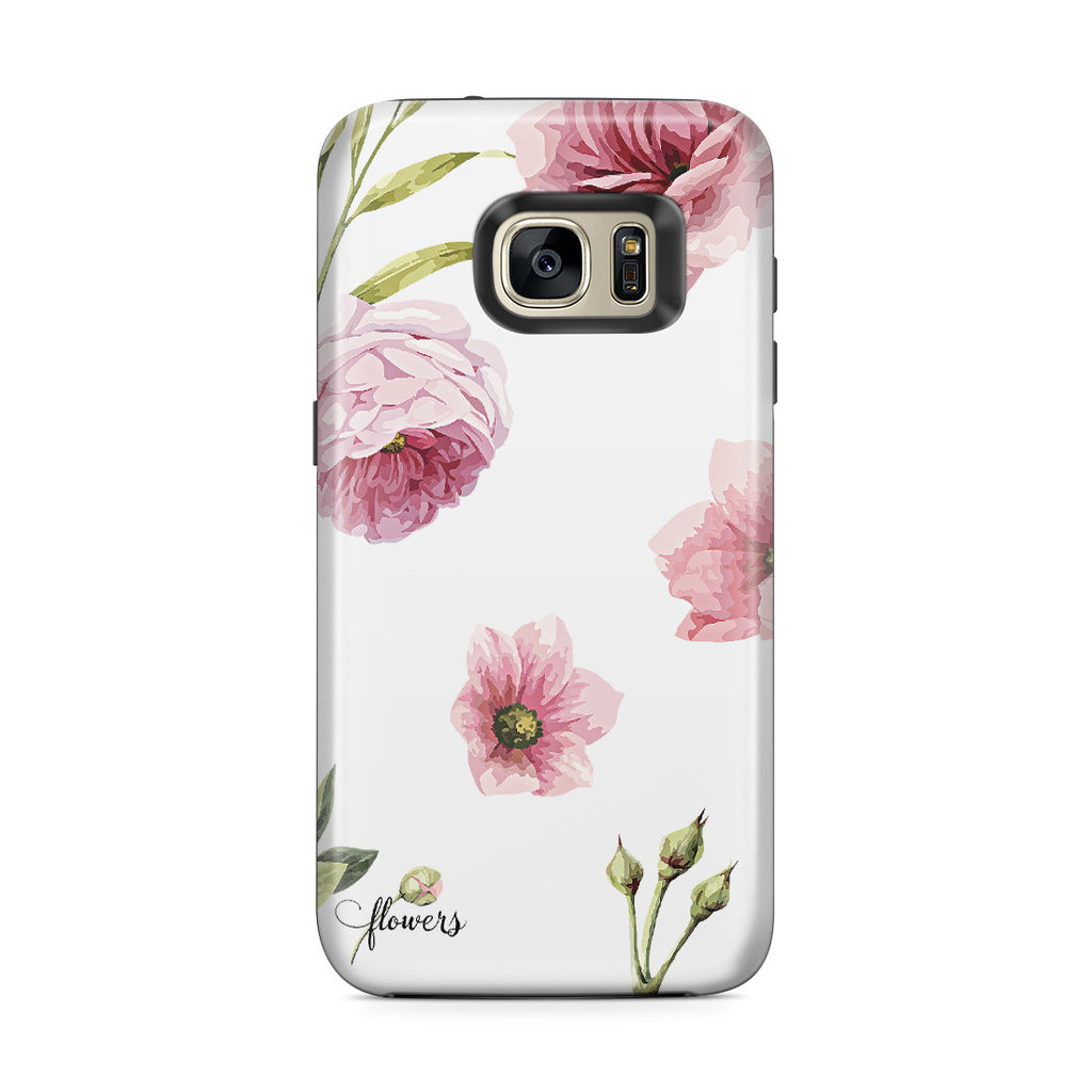 Galaxy S7 Edge Adventure Case - Full Blossom