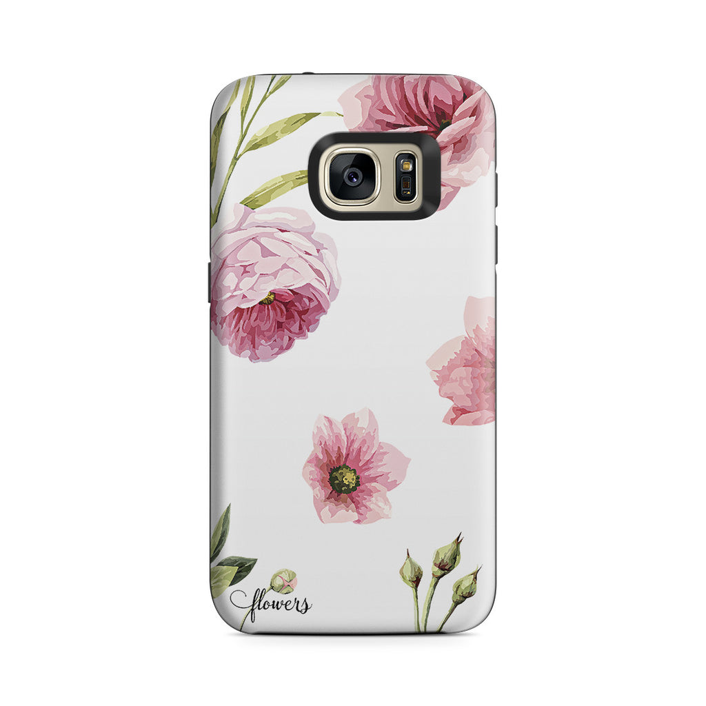 Galaxy S7 Adventure Case - Full Blossom