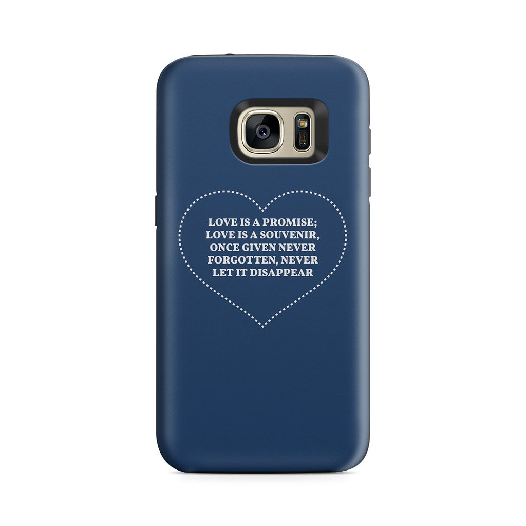Galaxy S7 Adventure Case - The Greatest Gift Is Love
