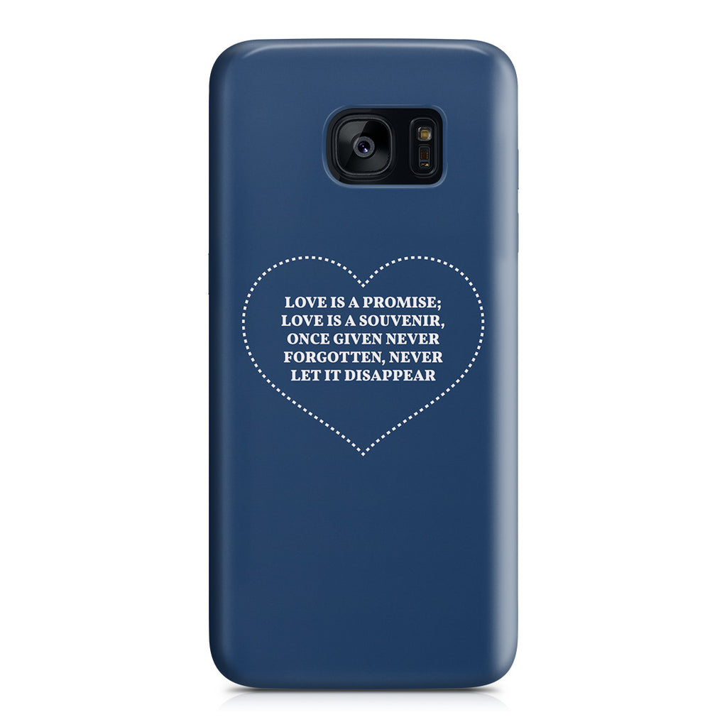 Galaxy S7 Edge Case - The Greatest Gift Is Love