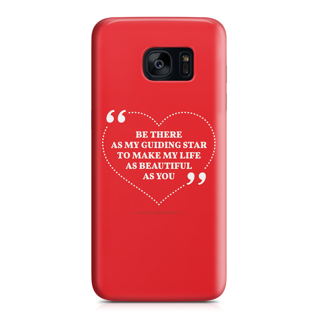 Galaxy S7 Edge Case - Love is Friendship Caught on Fire