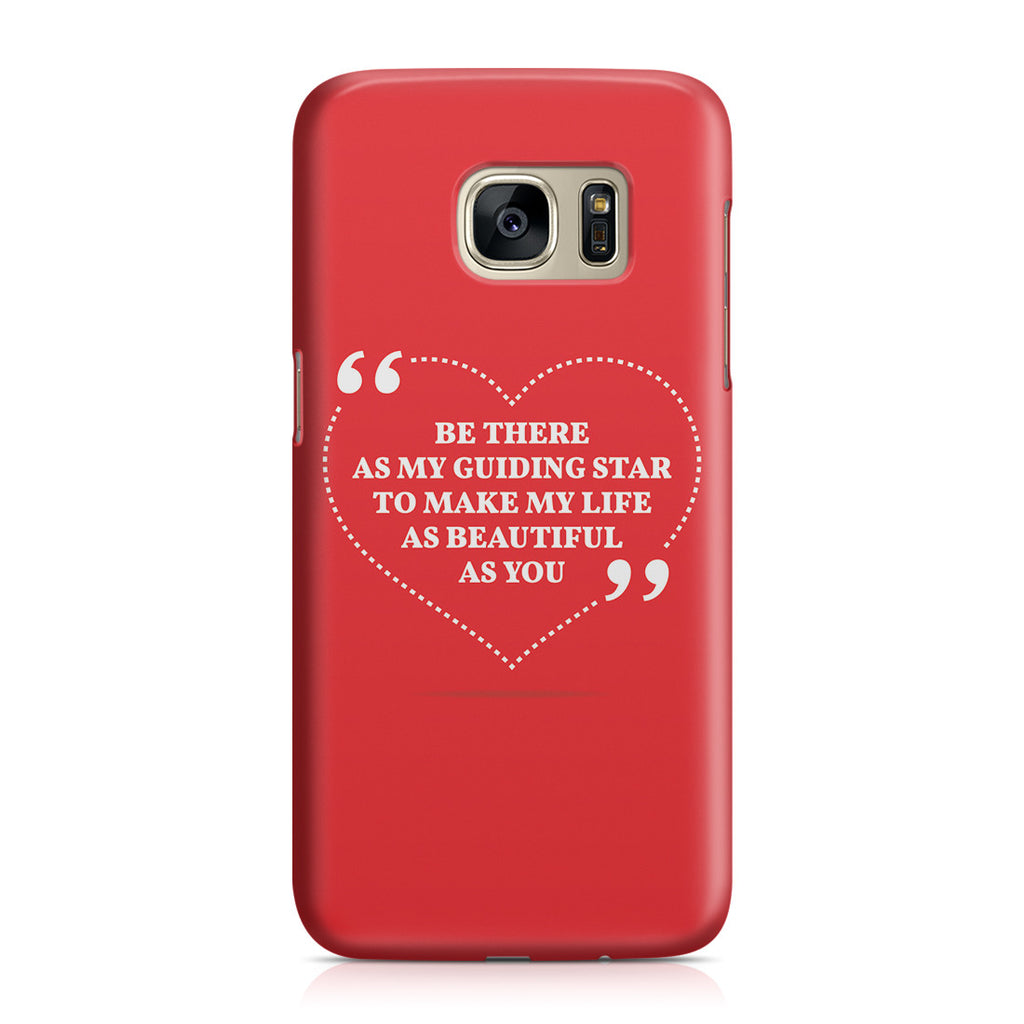 Galaxy S7 Case - Love is Friendship Caught on Fire