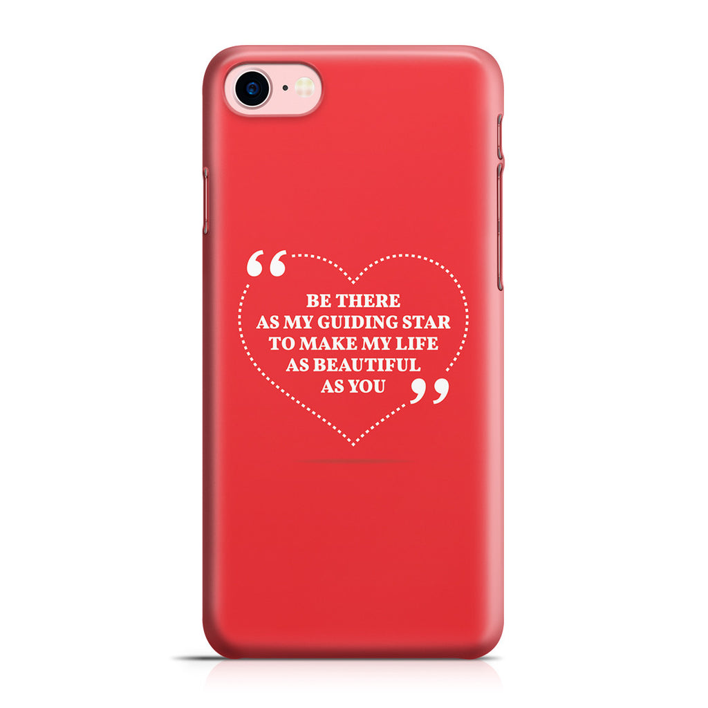 iPhone 7 Case - Love is Friendship Caught on Fire