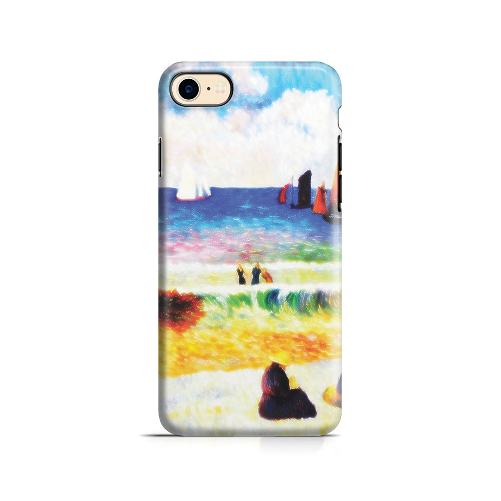 iPhone 7 Adventure Case - Bathing, Dieppe, 1885 by Paul Gauguin