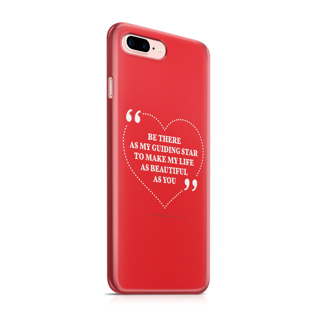 iPhone 7 Plus Case - Love is Friendship Caught on Fire