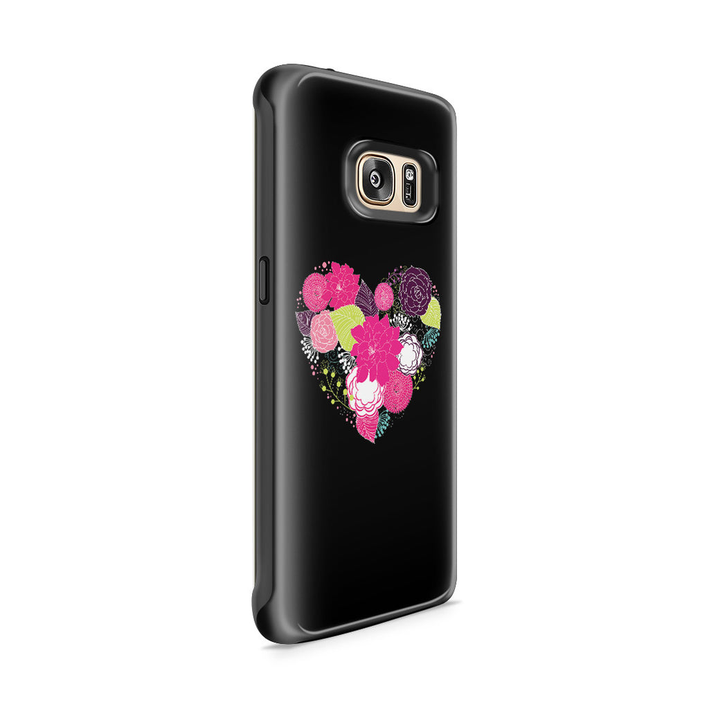 Galaxy S7 Edge Adventure Case - Love is a Flower You've Got to Let it Grow