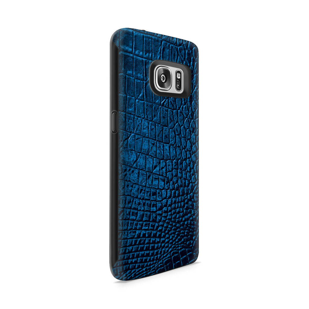 Galaxy S7 Adventure Case - Croco Leather