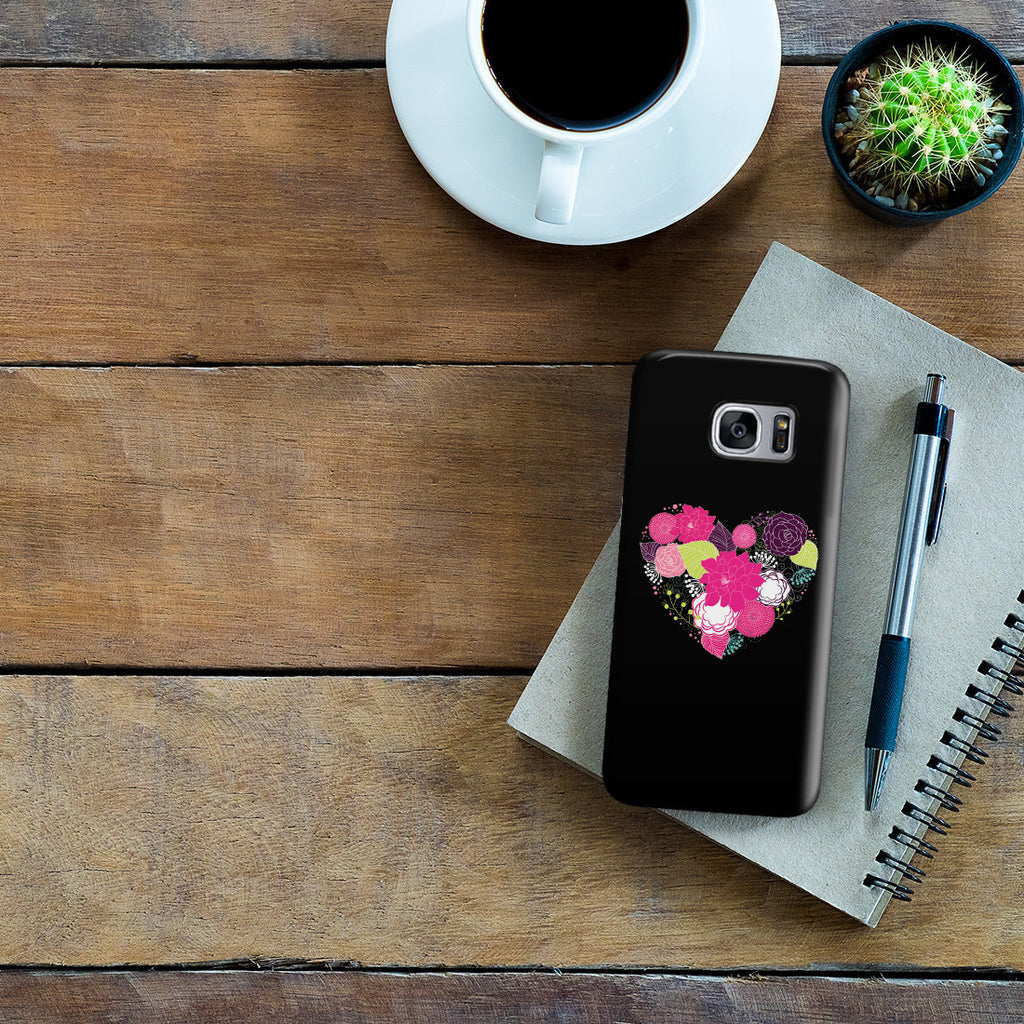 Galaxy S7 Edge Case - Love is a Flower You've Got to Let it Grow