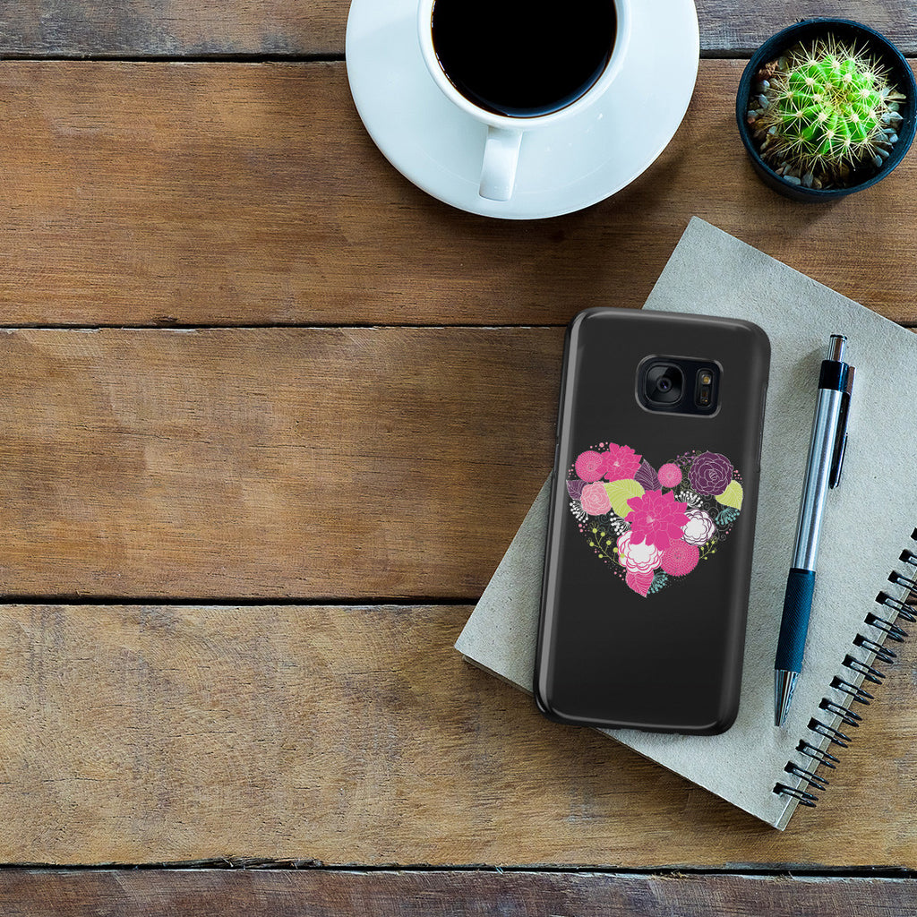 Galaxy S7 Case - Love is a Flower You've Got to Let it Grow