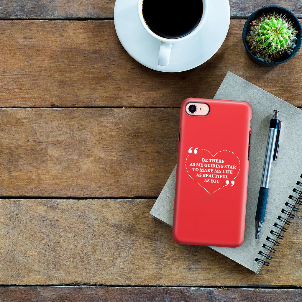 iPhone 7 Adventure Case - Love is Friendship Caught on Fire