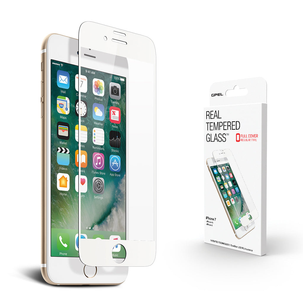 iPhone 7 Edge to Edge Screen Protector - Real Tempered Glass