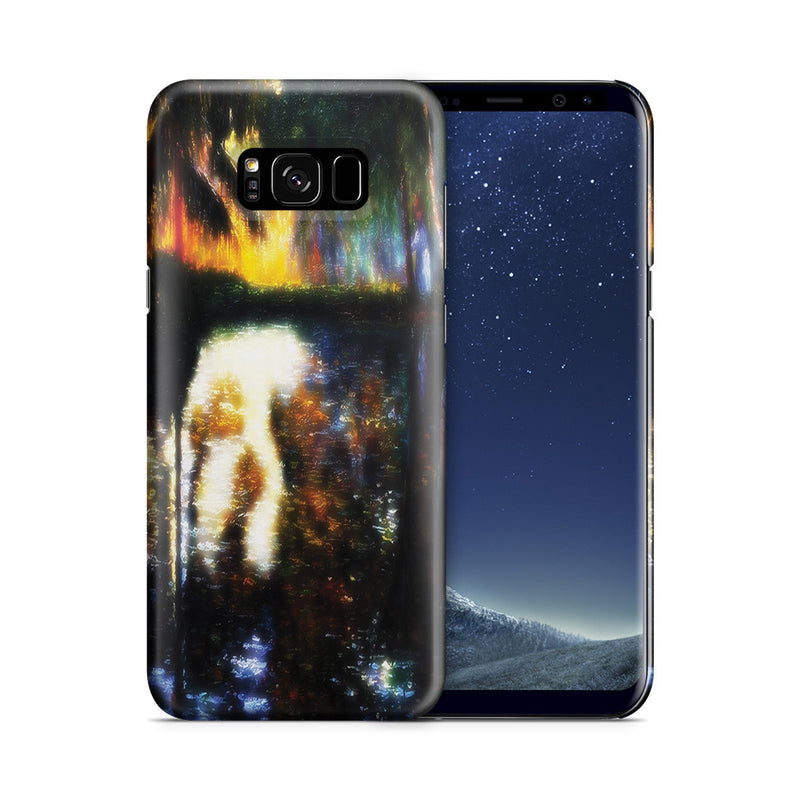 Galaxy S8 Case - The Pond at Montgeron, 1876 by Claude Monet