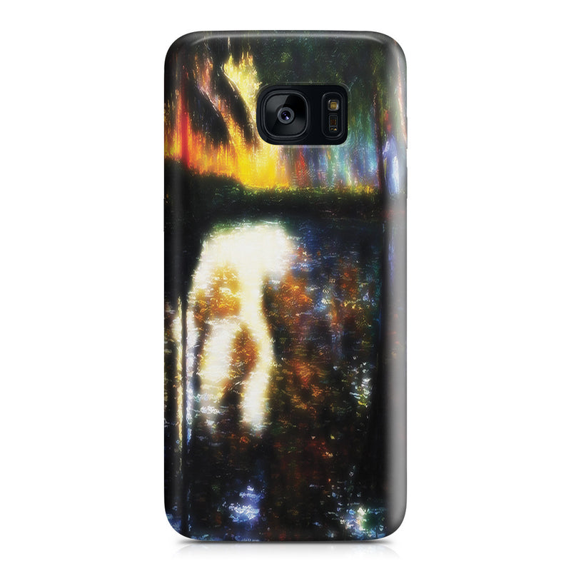 Galaxy S7 Edge Case - The Pond at Montgeron, 1876 by Claude Monet