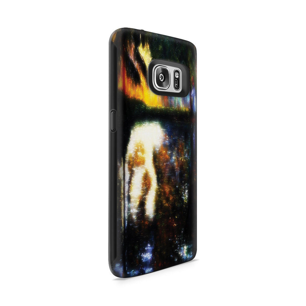 Galaxy S7 Adventure Case - The Pond at Montgeron, 1876 by Claude Monet