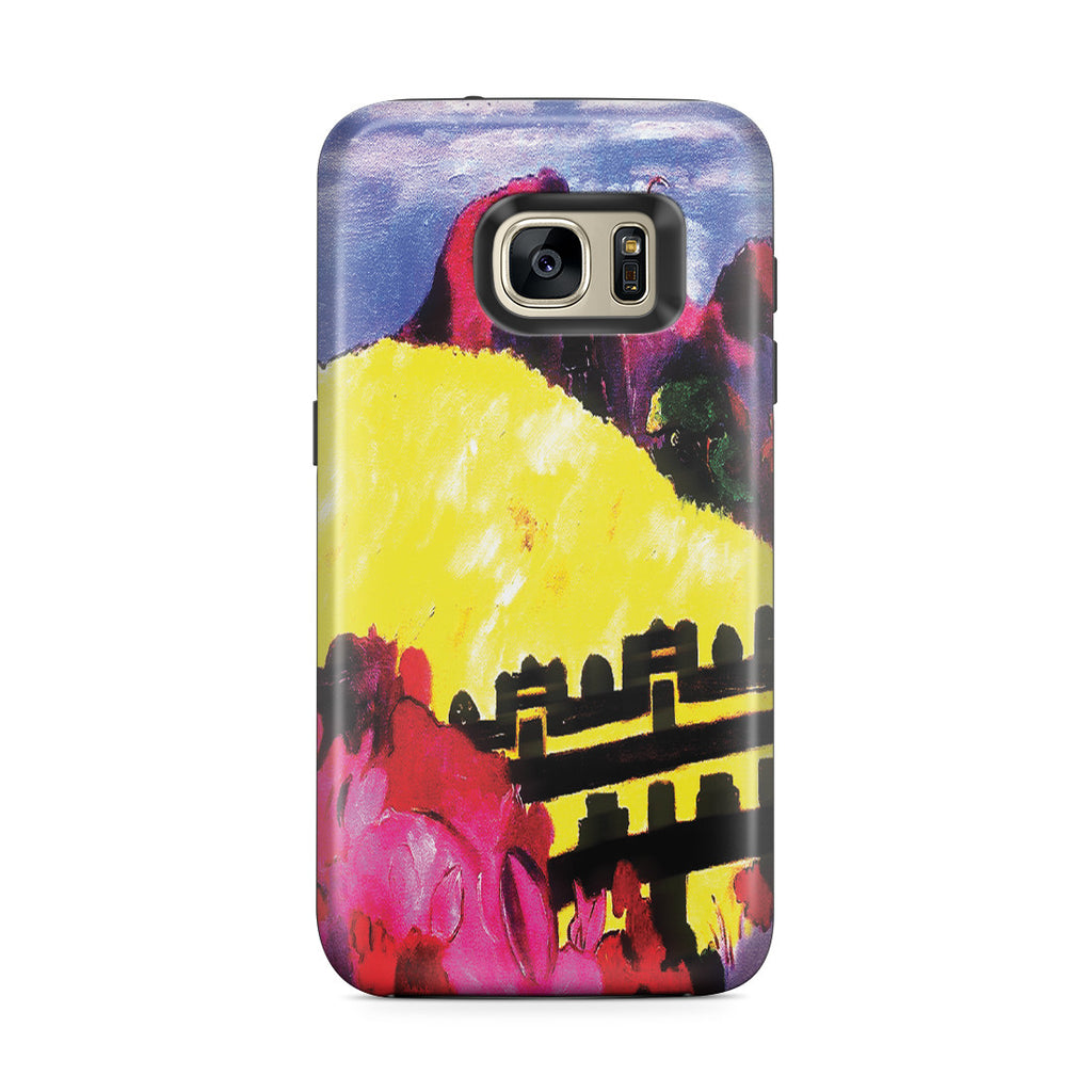 Galaxy S7 Edge Adventure Case - The Sacred Mountain, 1892 by Paul Gauguin