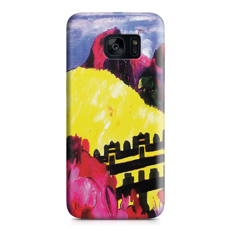 Galaxy S7 Edge Case - The Sacred Mountain, 1892 by Paul Gauguin