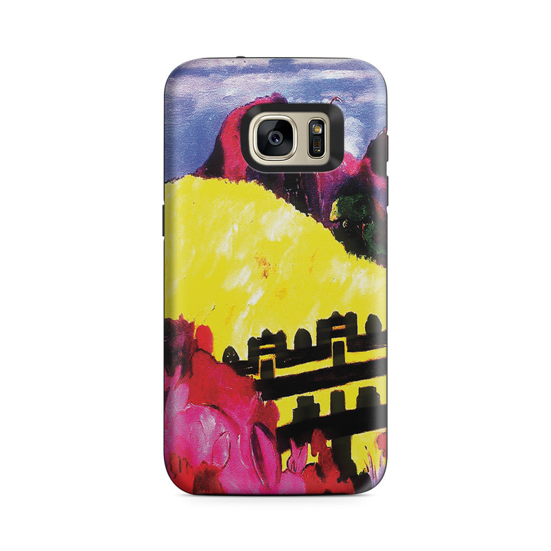 Galaxy S7 Adventure Case - The Sacred Mountain, 1892 by Paul Gauguin