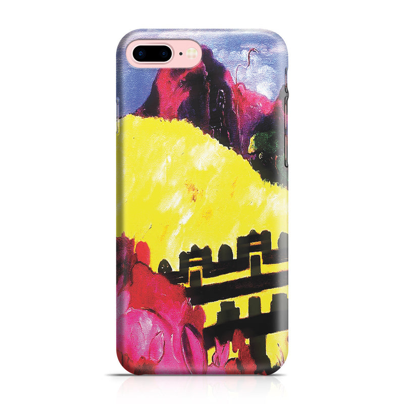 iPhone 7 Plus Case - The Sacred Mountain, 1892 by Paul Gauguin