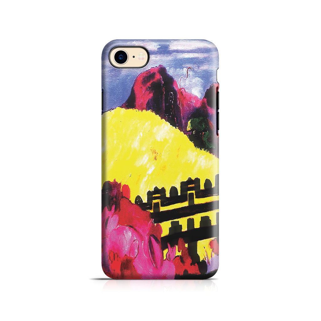 iPhone 7 Adventure Case - The Sacred Mountain, 1892 by Paul Gauguin