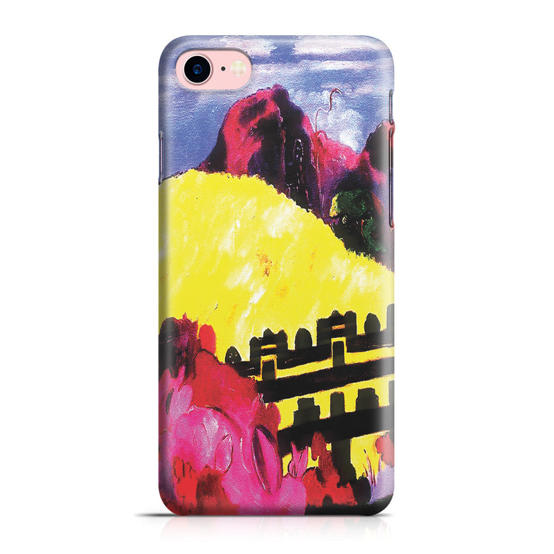 iPhone 7 Case - The Sacred Mountain, 1892 by Paul Gauguin
