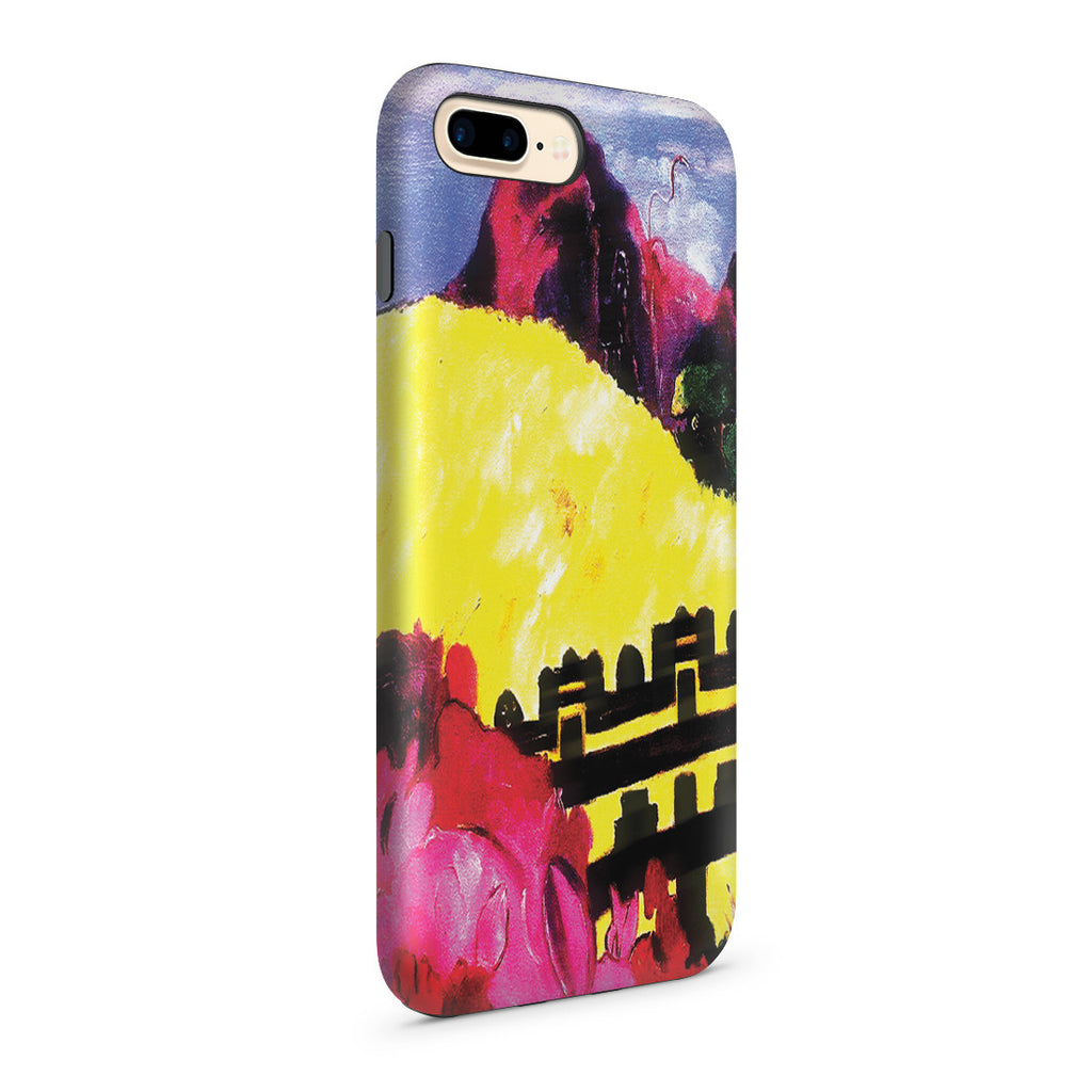 iPhone 7 Plus Adventure Case - The Sacred Mountain, 1892 by Paul Gauguin