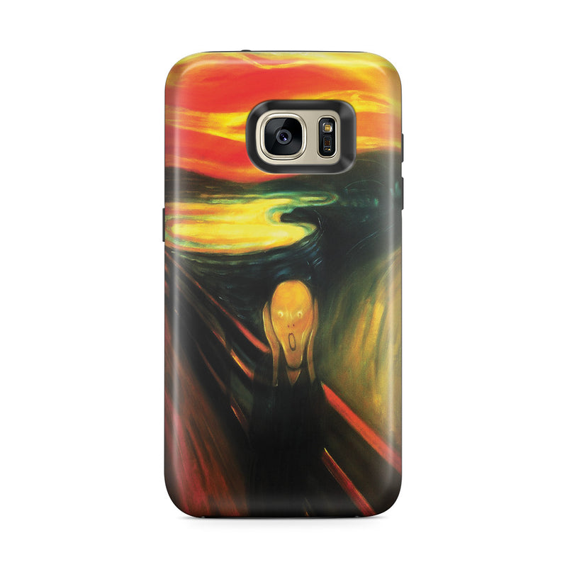 Galaxy S7 Edge Adventure Case - The Scream by Edvard Munch
