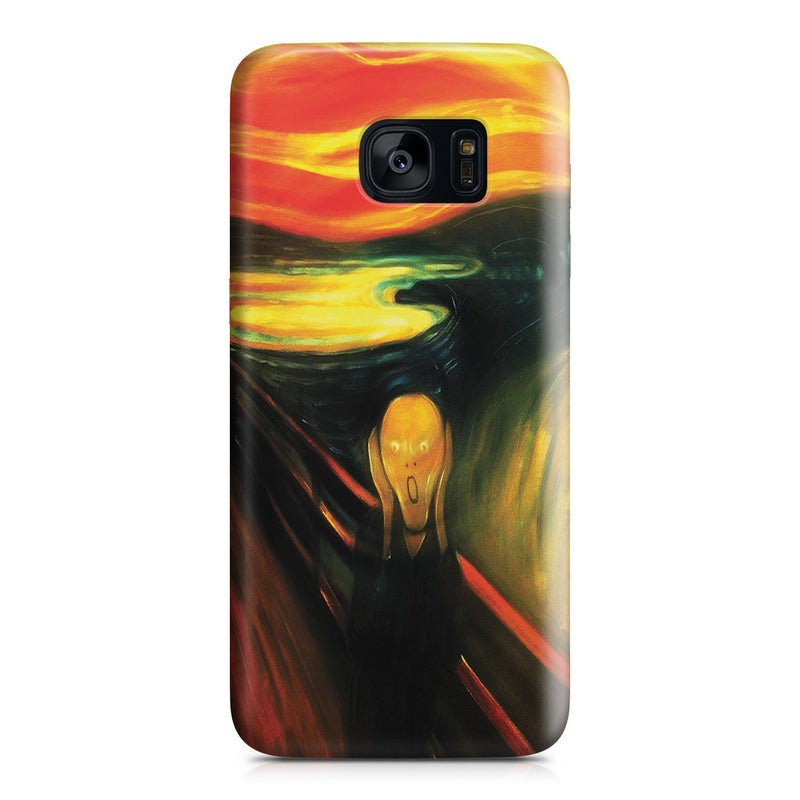 Galaxy S7 Edge Case - The Scream by Edvard Munch