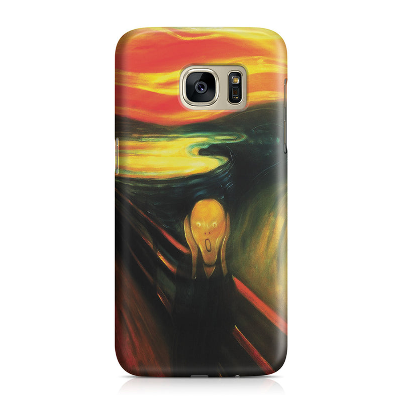 Galaxy S7 Case - The Scream by Edvard Munch