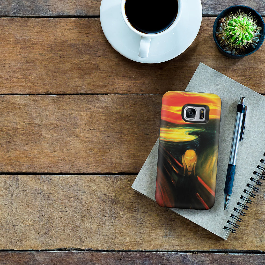 Galaxy S7 Adventure Case - The Scream by Edvard Munch