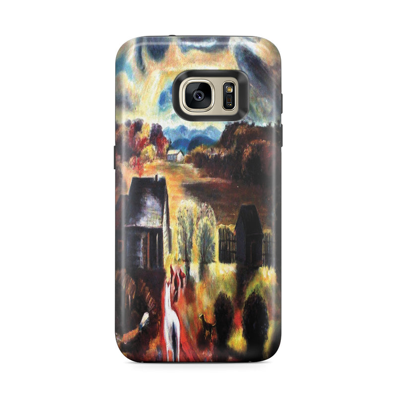 Galaxy S7 Edge Adventure Case - The White Horse by George Wesley Bellows