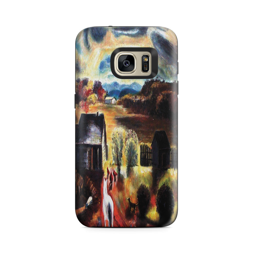 Galaxy S7 Adventure Case - The White Horse by George Wesley Bellows