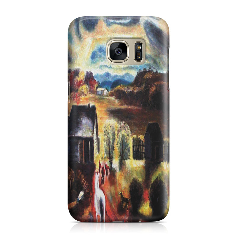 Galaxy S7 Case - The White Horse by George Wesley Bellows