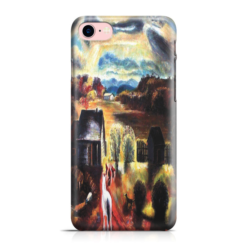 iPhone 7 Case - The White Horse by George Wesley Bellows