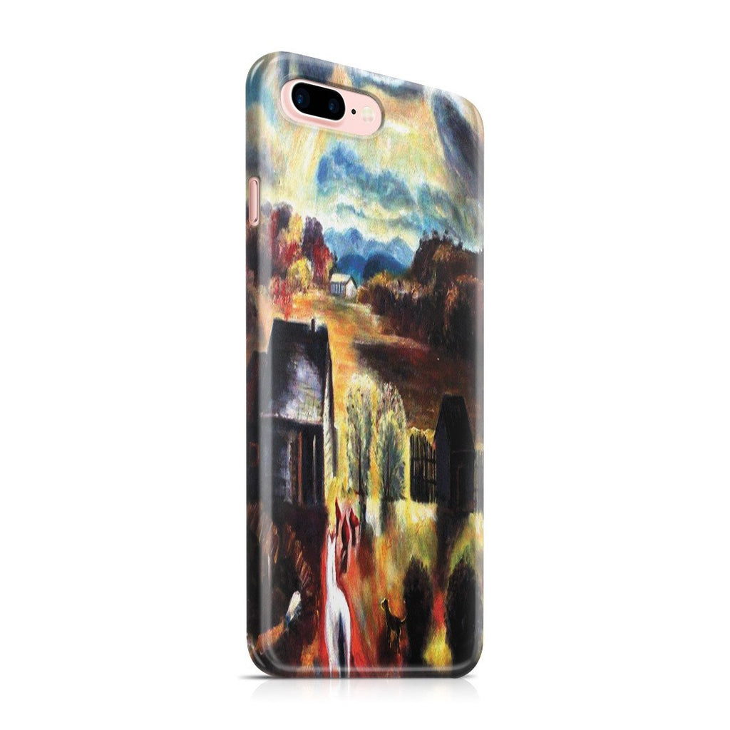 iPhone 8 Plus Case - The White Horse by George Wesley Bellows